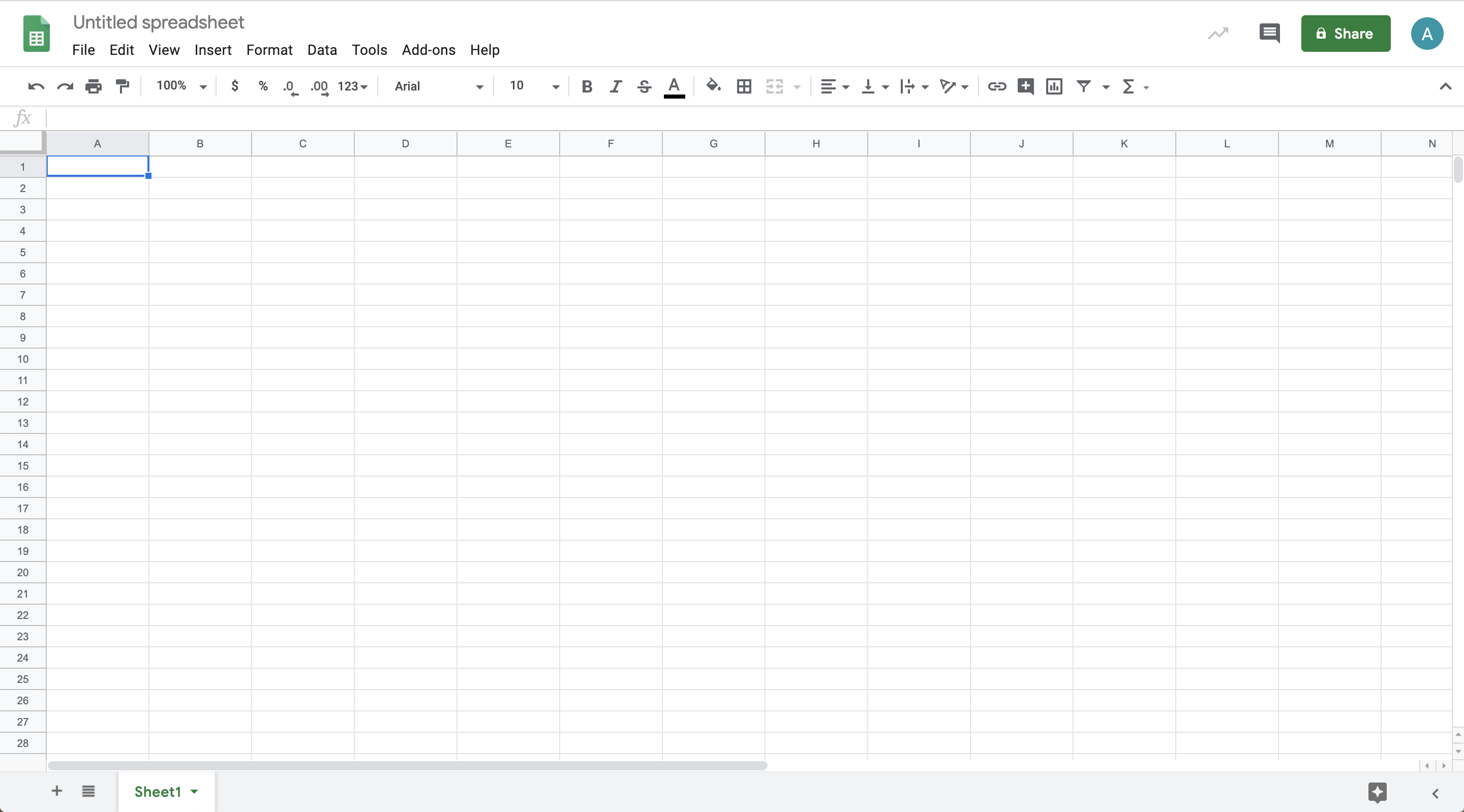 Use Google Sheets to prepare data for analysis