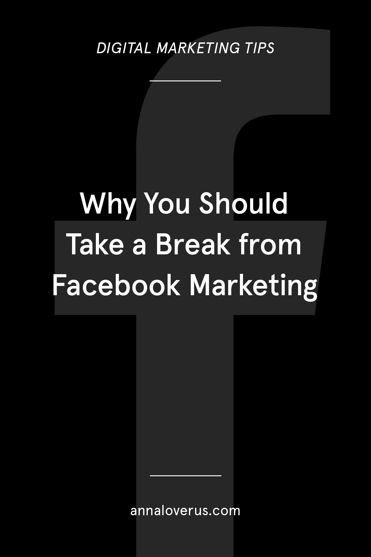 It might be time to move away from Facebook in your everyday marketing routine. Here are some pretty good arguments to why.