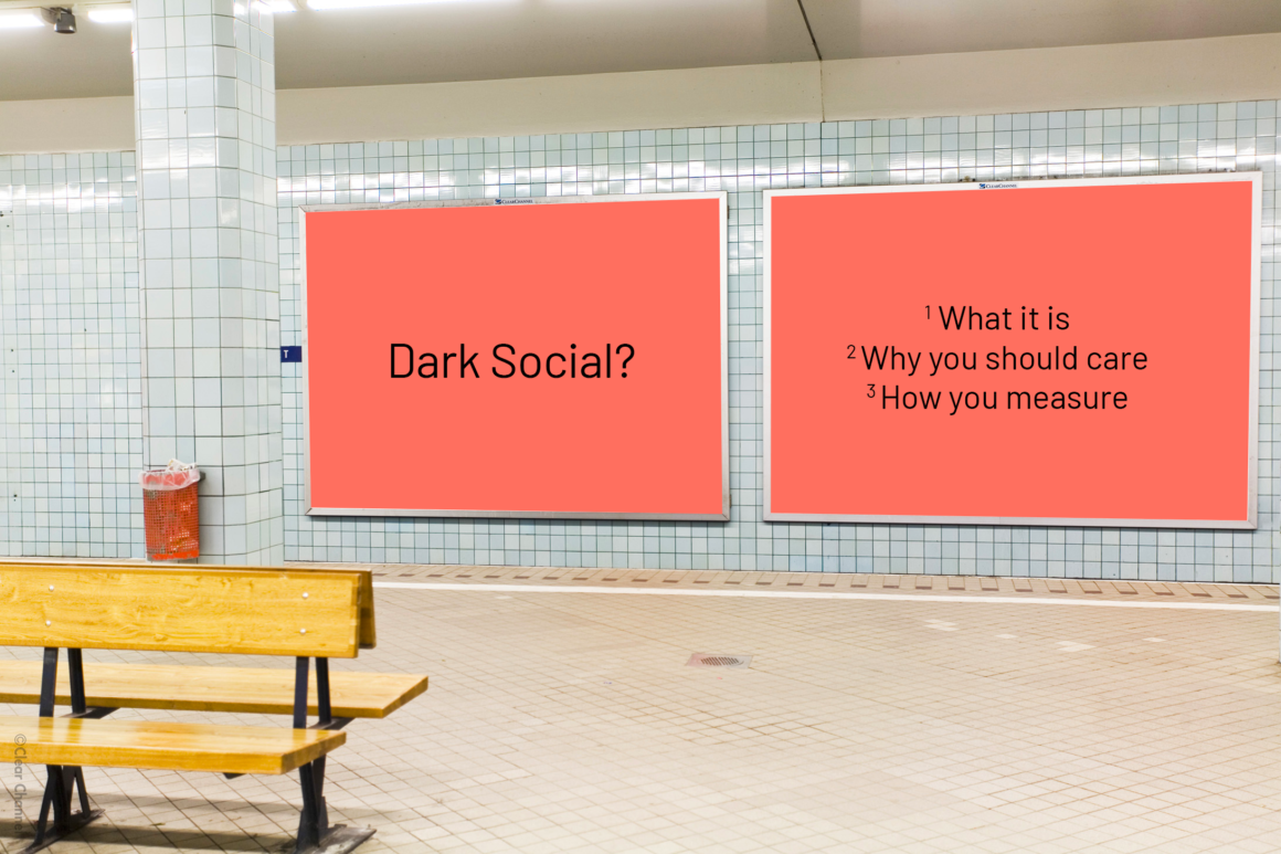 You will learn what dark social is, why you should care and how you measure it.